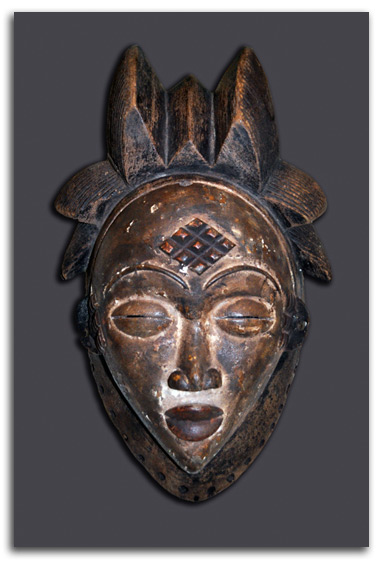 Image of African Mask #1.