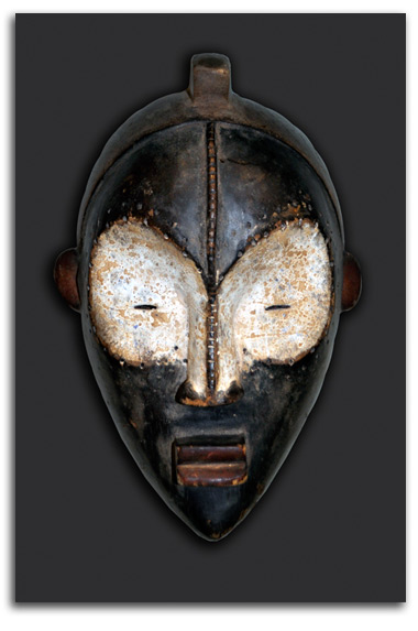 Image of African mask #3