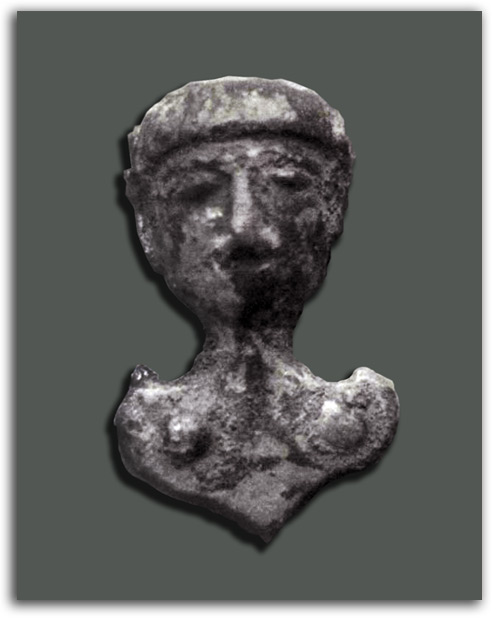 Image of Celtic bust.