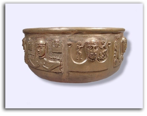Image of Celtic cauldron.