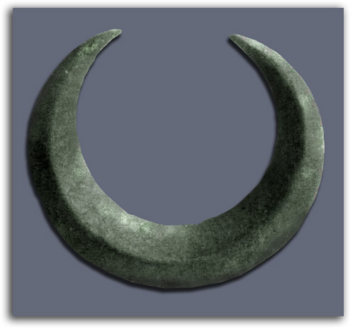 Image of Crescent Brooch.