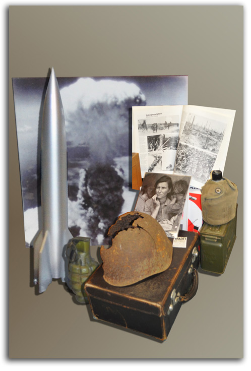 Image of World War display.
