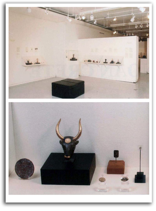 Image of Minoan-Cretian Gallery installation.