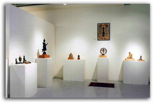 Image of Indian-Gandhara Gallery installation.