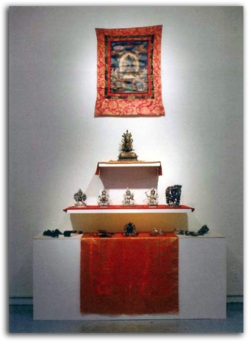 Image of Tibet Gallery installation.
