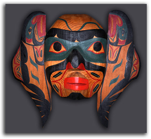 Imahge of Salmon Transformation Mask.