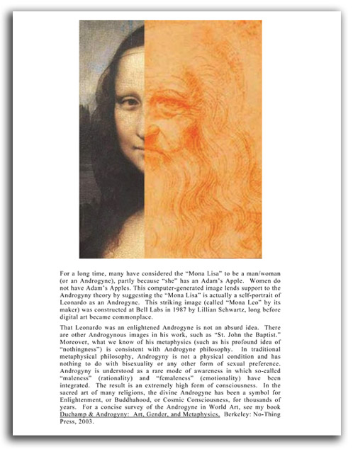 Image of 'Looking at Leonardo' booklet - page 18.