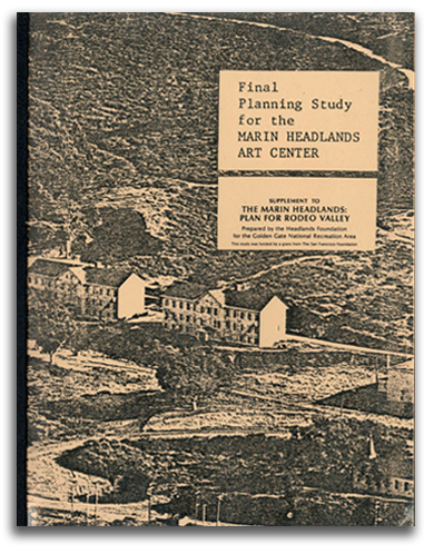 Image of Marin Headlands planning brochure cover.