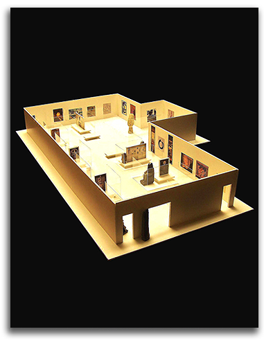 Image of World History Learning Center model