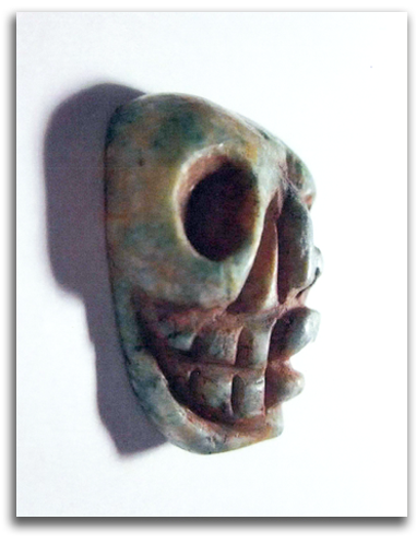 Image of Olmec Nonduality Face - view 3.