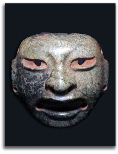 Image of second Olmec masquette.