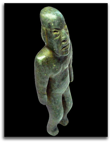 Image of Olmec Shaman figure.