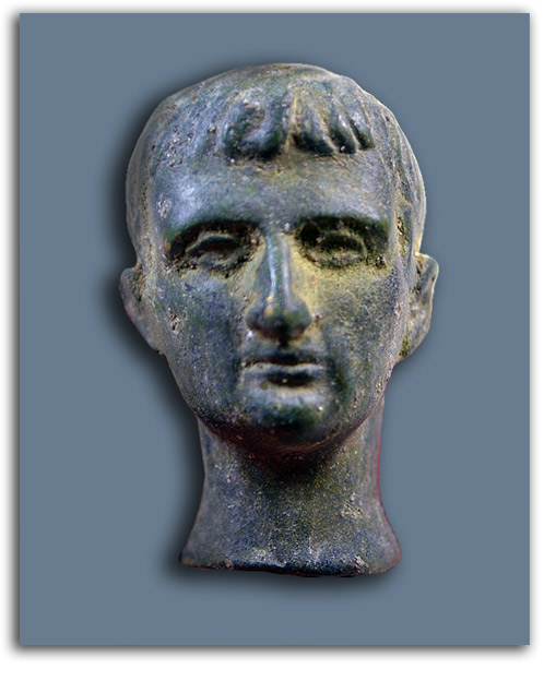 Image of Roman head.