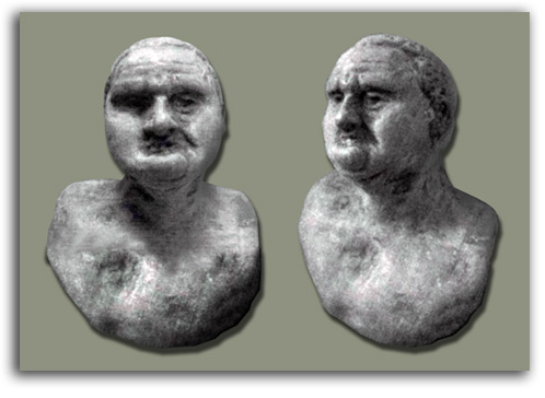 Image of bust of Titus.
