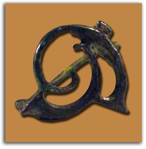 Image of Trumpet Brooch.